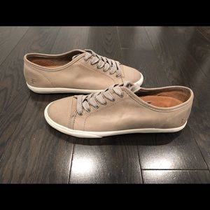 New Frye low lace sneakers shoes